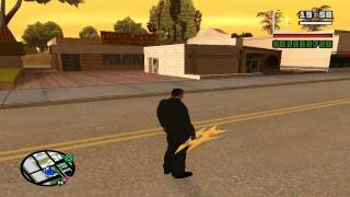 Terror No GTA San Andreas Mod Misterix O Deus Do GTA