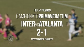 Primavera, Inter-Atalanta 2-1: gli highlights