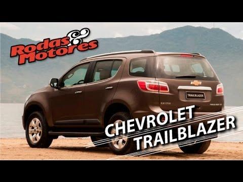Chevrolet Trailblazer, maior, mais luxuosa e mais cara.
