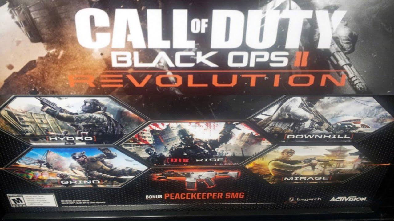 Cod Bo2 Revolution Map Pack Black Ops 2 Map Pack 1 Gun