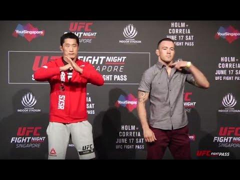 Medialne twarzą w twarz przed UFC FN 11 w Singapurze (+video)