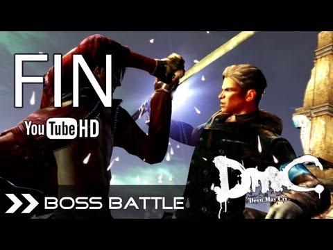 DmC: Devil May Cry 5 2013 (PC) - Ending (Dante VS Vergil) Final Boss HD 1080p Classic Dante