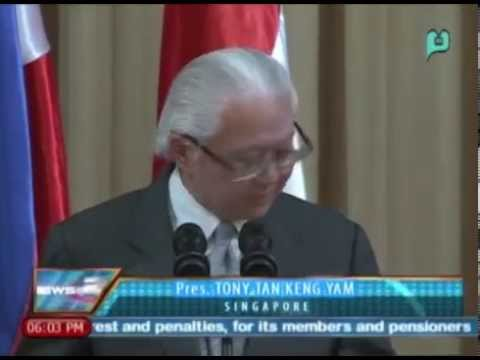 News@6: Pagpapatibay sa GPH-MILF peace deal, pinapurihan ni Singapore Pres. Tony Tan