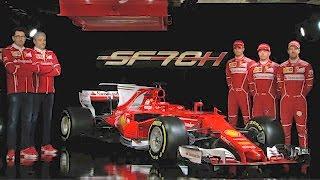 2017 Ferrari Formula 1 – Ferrari SF70H – 2017 F1 Season. YouCar Car Reviews.
