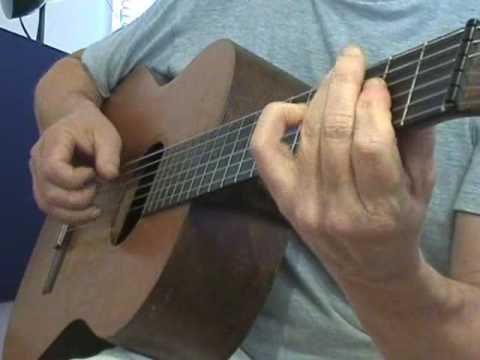 Nylon string jazz - guitar improvisation
