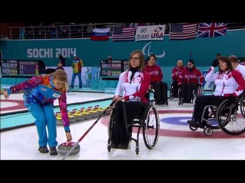Wheelchair Curling | March 13 | Team Canada Daily Highlights | Sochi 2014 Paralympics