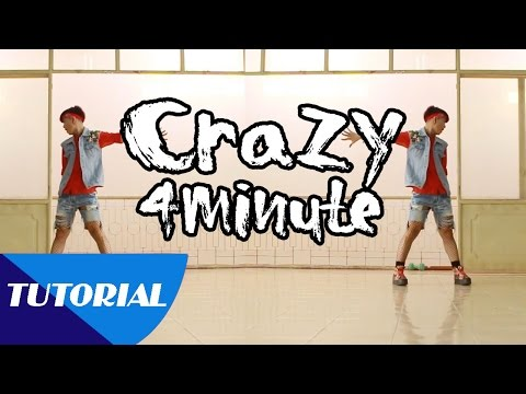 Tutorial Mirror | Dạy nhảy 4MINUTE - 미쳐 Crazy