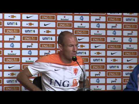 Arjen Robben says he is too honest for his own good