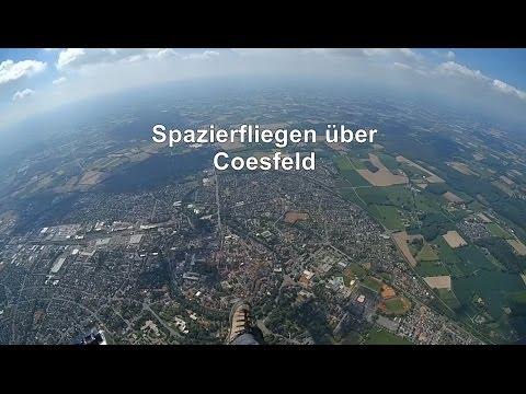 Spazierfliegen über Coesfeld - Gleitschirm Sightseeing