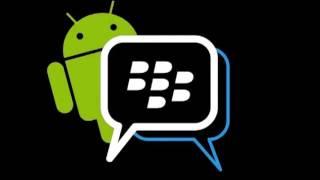 Como Descargar BlackBerry Messenger (BBM) Para Android