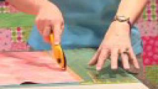 How To Make Your First Quilt- Cutting- From