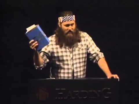 Willie Robertson at Harding University 11/28/2012 - YouTube