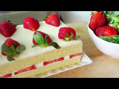 Japanese Strawberry Shortcake (Strawberry Cream Cake)