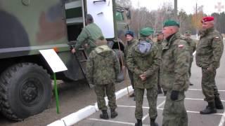 Делегація Збройних Сил Польщі відвідала навчальний центр Нацгвардії