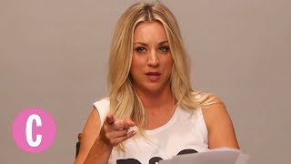 Kaley Cuoco Reads Lines from The Big Bang Theory | Cosmopolitan