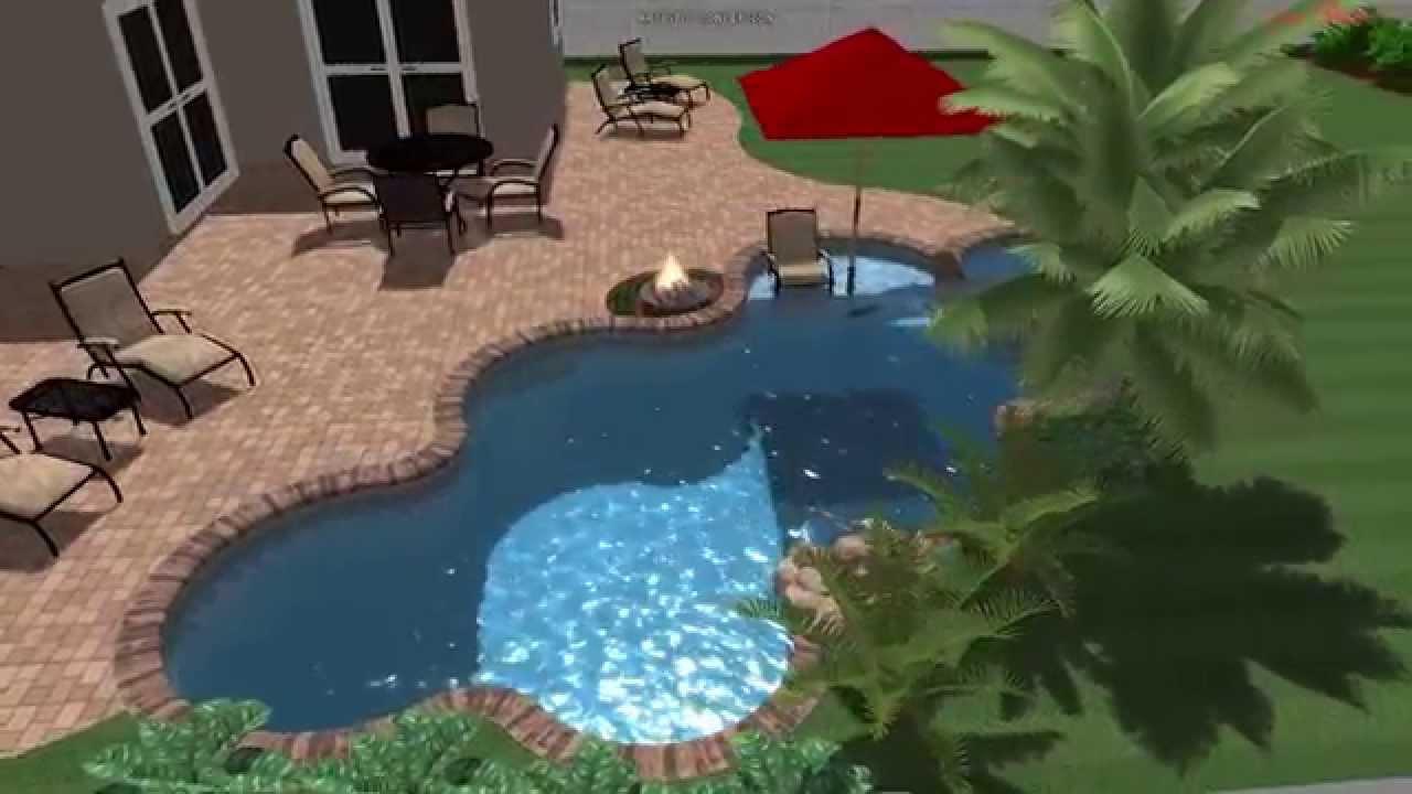 Lagoon Swimming Pool Designs : Lagoon Shaped Swimming Pool Designs
