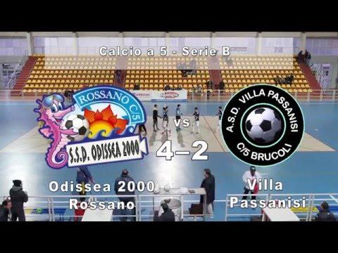 Serie B, Odissea - Villa Passanisi 4-2 (16/01/16)
