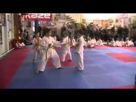 Экзамен по каратэ 3 ноября 2013 года в клубе Тигренок.ч.4