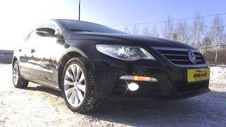2009 Volkswagen Passat CC. Обзор (интерьер, экстерьер, двигатель).. MegaRetr