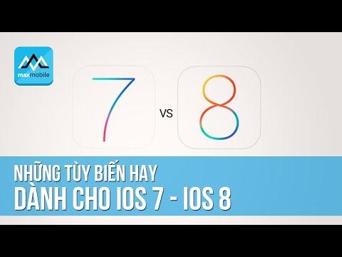 Những tùy biến cực hay cho iPhone - iOS 7, 8
