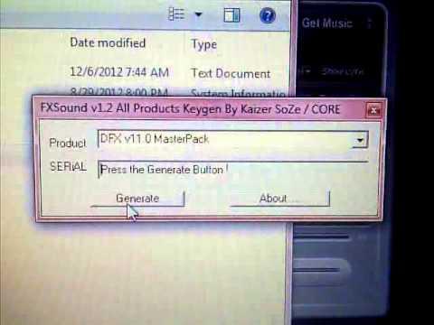 dfx audio enhancer serial number pc