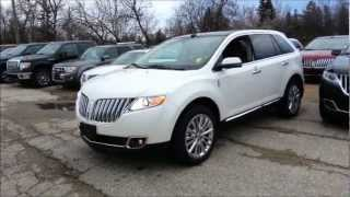2013 Lincoln MKX Start up, Walkaround and Vehicle Tour