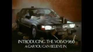 Volvo 960 sedan tv commercial 1991