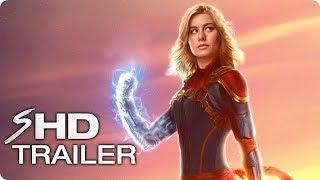 CAPTAIN MARVEL Teaser Trailer Concept (2019) Brie Larson Marvel Movie HD
