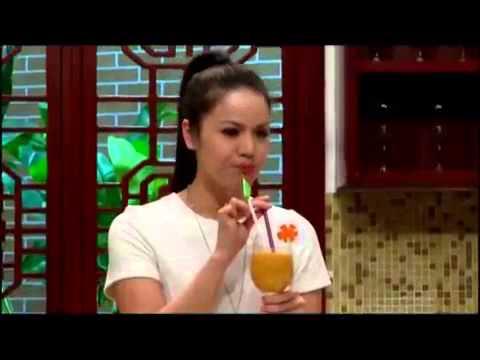Nhật Kim Anh làm món sinh tố hỗ trợ giảm cân   Tận Hưởng Cuộc Sống SCTV7 ngay 19 10 2013