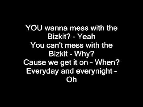 Limp Bizkit - Rollin LYRICS!!!! - YouTube