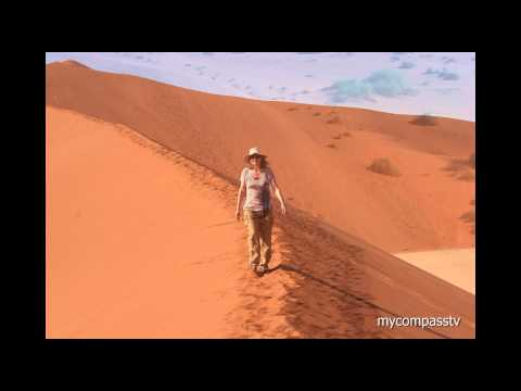 Sossusvlei Sand Dunes of the Namib Desert - Namibia - travel chanel
