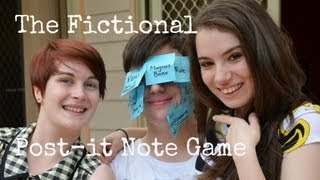 Fictional Post-it Note Game| with Emily and Tom