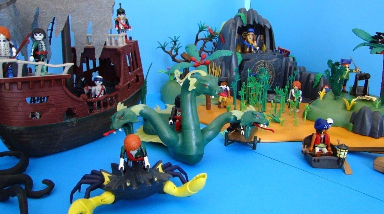Playmobil pirates piraten demo youtube - Playmobil pirate fantome ...