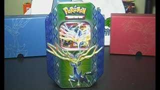 Xerneas EX Tin Opening Pokemon XY Promo Collector's Tin