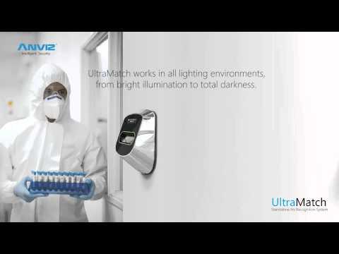 S1000 Ultramatch controllo accessi con riconoscimento dell'iride