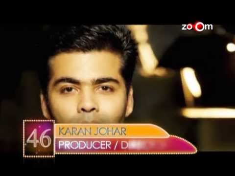 Karan Johar  Most Desirable Men at No.46