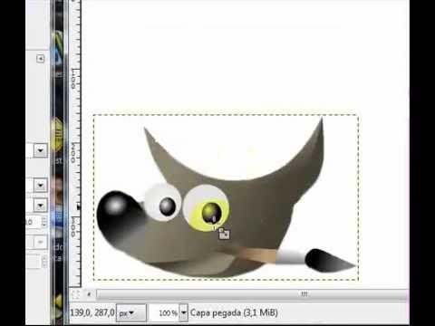 Tutorial - Cortar imagenes con gimp