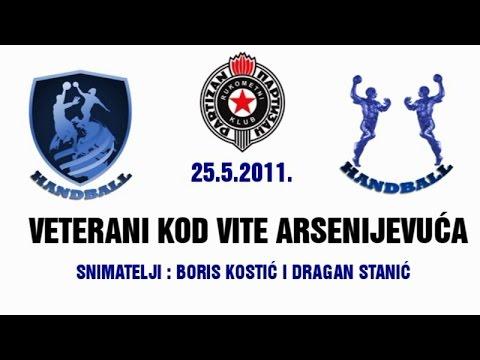 Veterani RK Partizan kod Vite Arsenijevića (25.05.2011.)