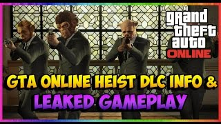 GTA 5 NEW Online GTA V Heists Leaked 100 + Animations