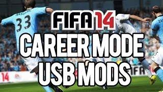 FIFA 14 Career Mode Usb Mods Download + Tutorial