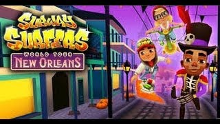 SUBWAY SURFERSNEW ORLEANS- CHEATS *no Root* [NEW UPDATE