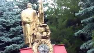 Monumentul soldatului… decapitat. Copăceni, Sîngerei