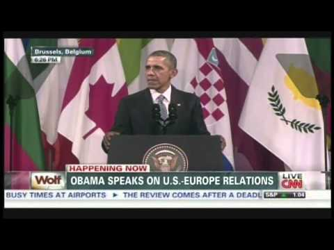 President Obama EU-US Summit Speech Brussels Belgium (March 26, 2014) [1/3]