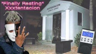 """FACE SEEN """"Spirt Box"""" Xxxtentacion at his Final Resting Spot Midnight Xxxtentacion GHOST SEEN"""