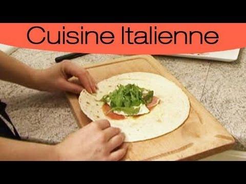 Recette le wrap l 39 italienne youtube - Youtube cuisine italienne ...