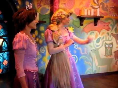 Rapunzel meets Rapunzel