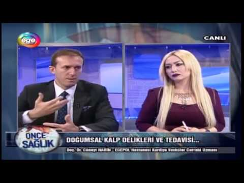 Doğumsal Kalp Delikleri Ve Tedavisi- 20.03.2017 Ege TV