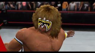 WWE 2K15 The Ultimate Warrior Vs The Undertaker (TLC