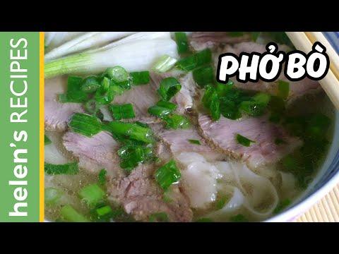PHO BO - Vietnamese Beef Noodle Soup Recipe
