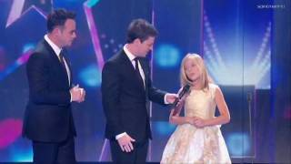 Jackie Evancho Guest Appearance Britain's Got Talent